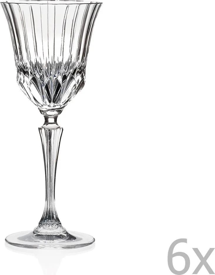 Set 6 pahare RCR Cristalleria Italiana Serafina