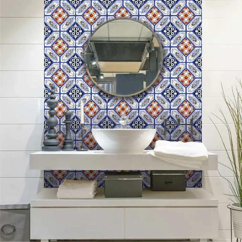 Set stickere decorative faianta Spic de Grau