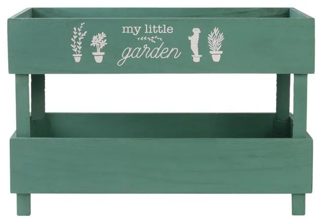 Etajera depozitare CMP Garden verde