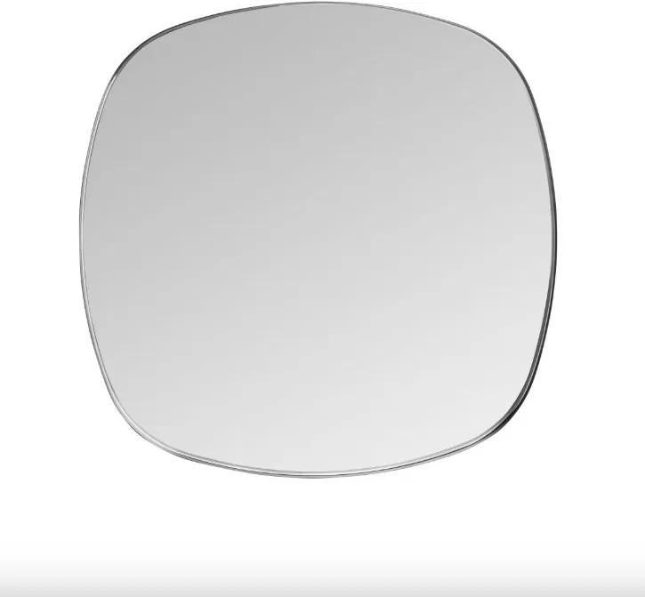 Oglinda patrata neagra din alama 70x70 cm Dobles Black Medium