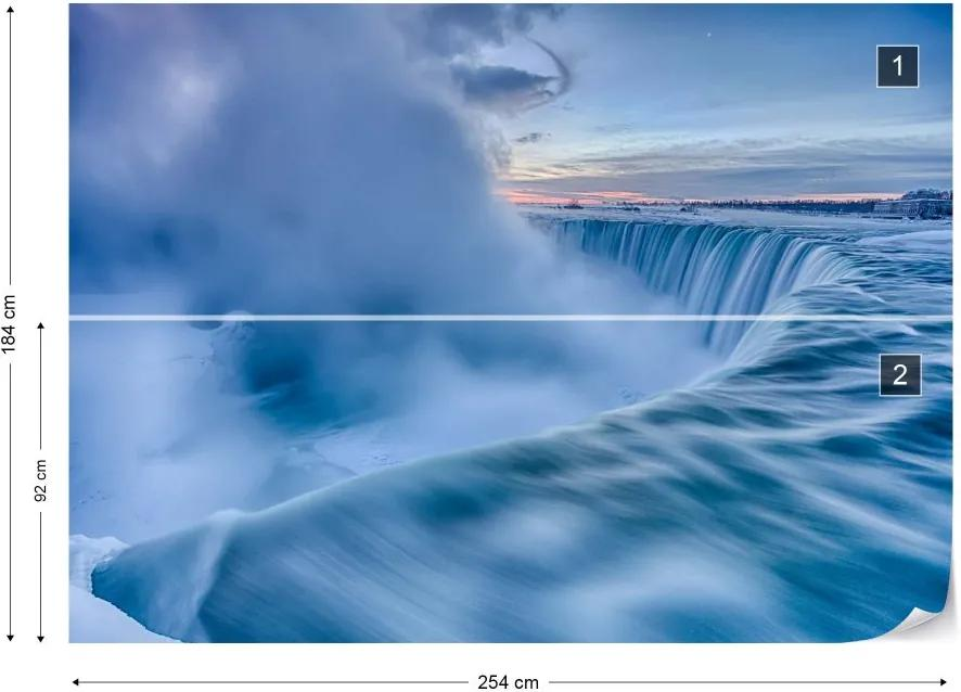 Fototapet GLIX - Frozen Fury + adeziv GRATUIT Tapet nețesute - 254x184 cm