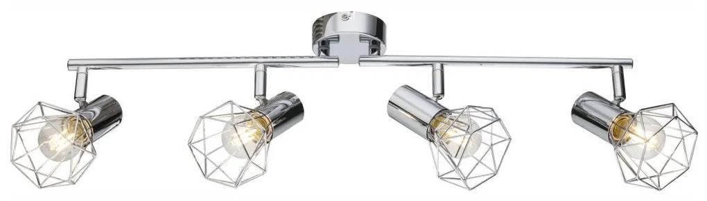 Globo 54802-4 - Lampa spot XARA I 4xE14/40W/230V
