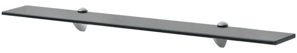 243767 vidaXL Raft suspendat din sticlă, 80 x 10 cm, 8 mm