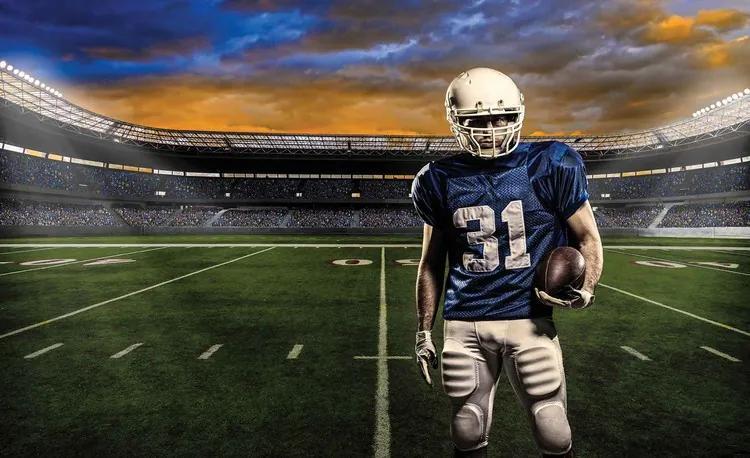 American Football Stadium Fototapet, (416 x 254 cm)