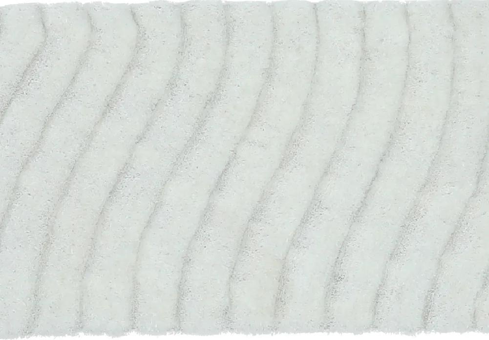 Covor 80x150 cm, alb, SELMA