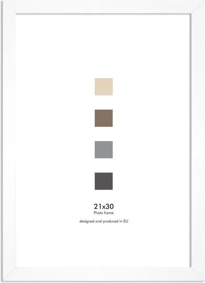 Ramă perete Styler Ramka Japan AF, 21 x 30 cm, alb