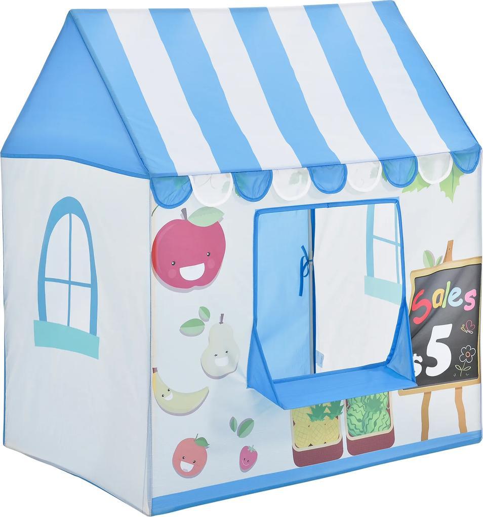 [casa.pro]® Cort pentru copii motiv Cabina vanzator -  110 x 100 x 70 cm -  poliester/plastic