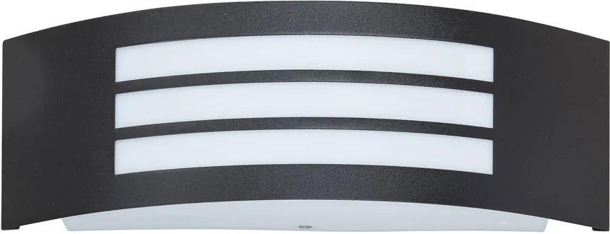 Rábalux Roma 8409 Aplice pentru iluminat exterior negru mat plastic E27 1x MAX 14W IP44