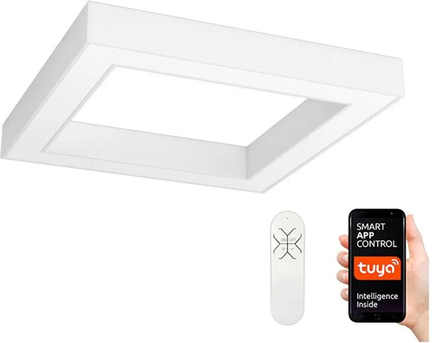 Immax NEO - LED Plafonieră dimmabilă CANTO LED/60W/230V 80x80 cm + Telecomandă
