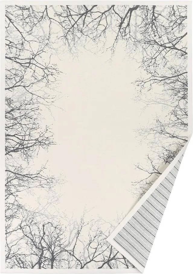 Covor reversibil Narma Puise, 140 x 200 cm, alb