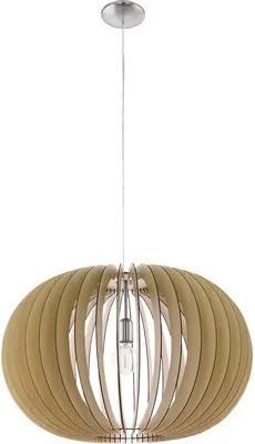 Pendul Stellato E27 max. 1x60W, Ø700 mm, lemn artar