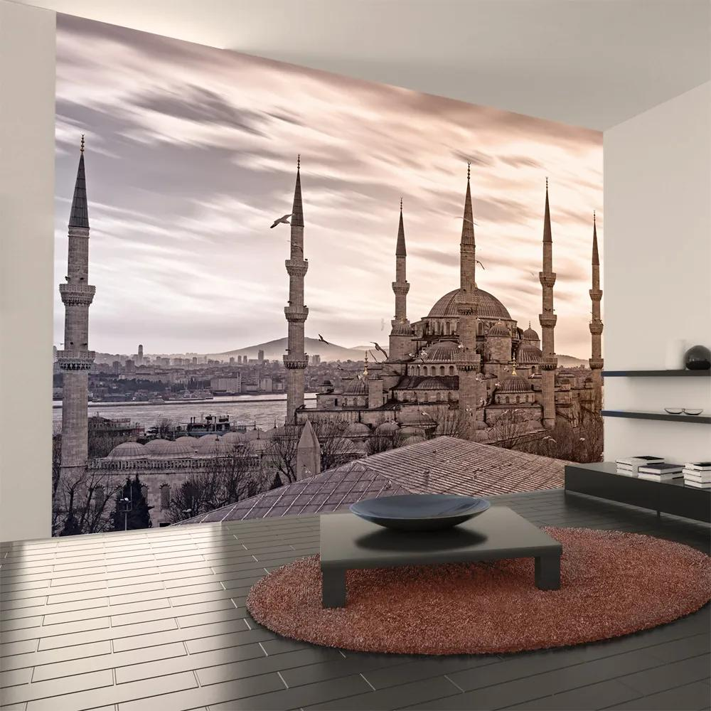 Fototapet Bimago - Blue Mosque - Istanbul + Adeziv gratuit 350x270 cm