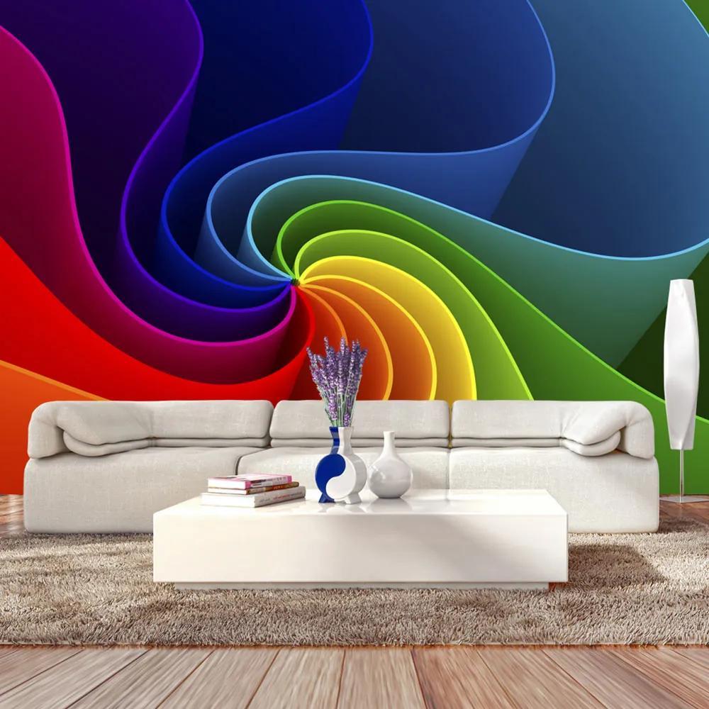 Fototapet - Colorful Pinwheel 300x210 cm