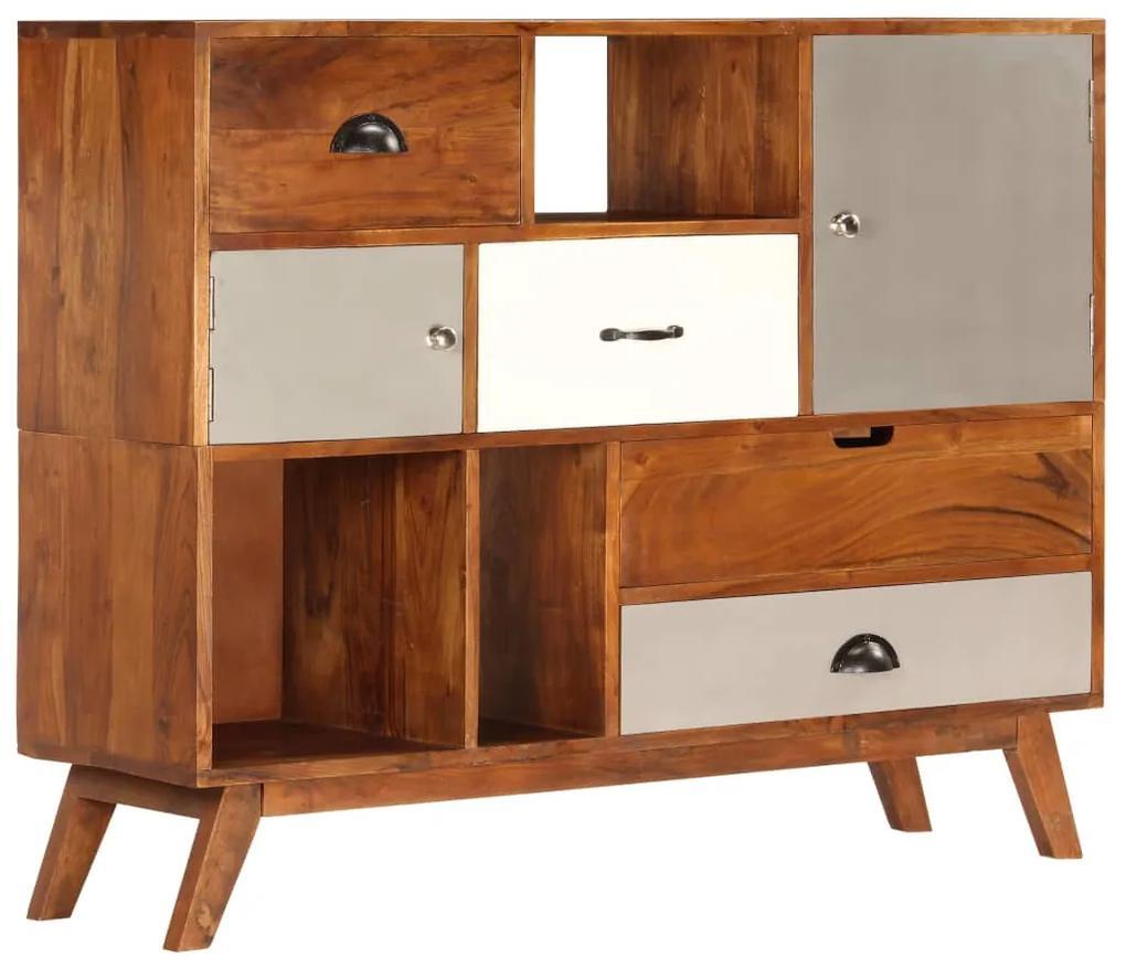 247938 vidaXL Servantă, 115 x 35 x 86 cm,  lemn masiv de acacia