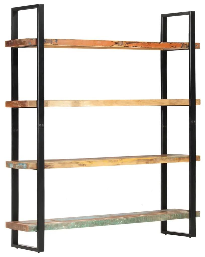 321067 vidaXL Bibliotecă cu 4 rafturi, 160 x 40 x 180 cm, lemn masiv reciclat