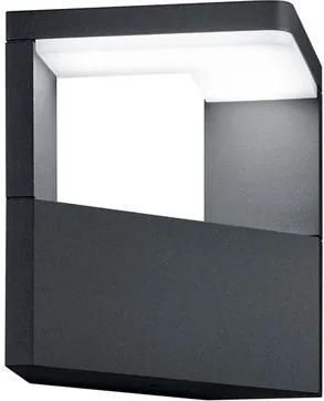 Trio 221760142 Aplice pentru iluminat exterior GANGES antracit aluminiu incl. 1 x SMD, 9W, 3000K, 1000Lm 1000lm 3000K IP54 A+