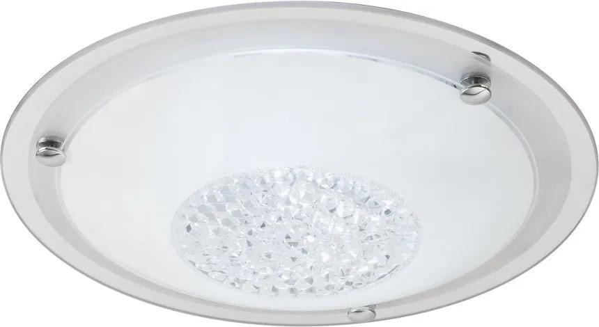 Rábalux 2464 Plafoniere cristal Patricia transparent metal E27 2x Max 40W IP20