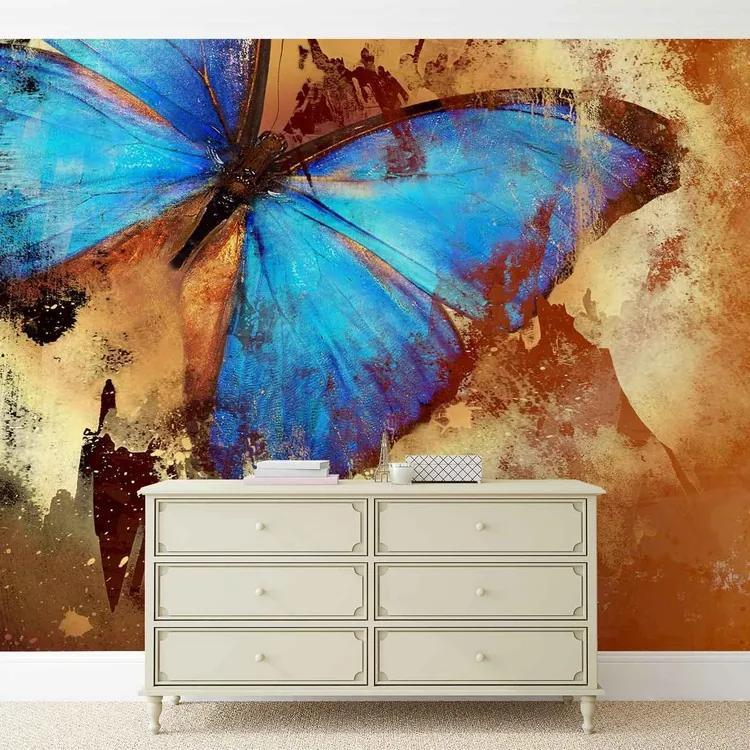 Butterfly Art Fototapet, (312 x 219 cm)
