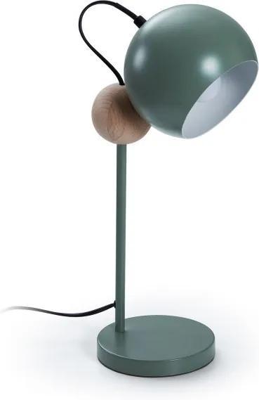 Lampa birou verde din metal Vonne Green La Forma