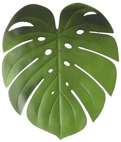 Napron Tropical in forma de frunza verde 46x38 cm