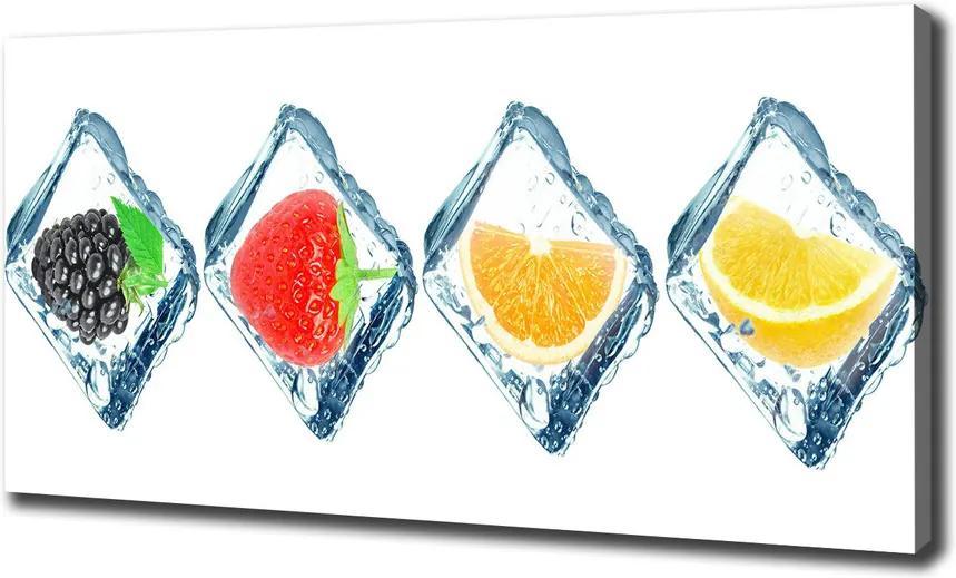 Tablou canvas Cuburi de fructe