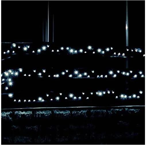 LED lant de iluminat 70m 1000xLED/230V rece alb IP44
