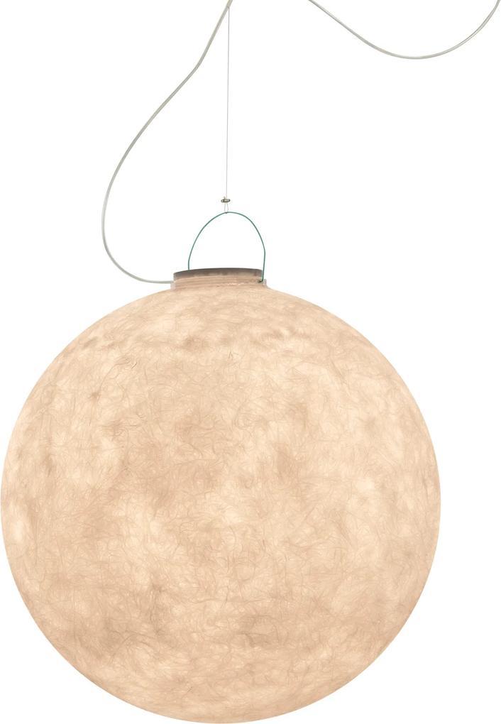 Luna 3 Out - Lampă suspendată cu mâner turcoaz