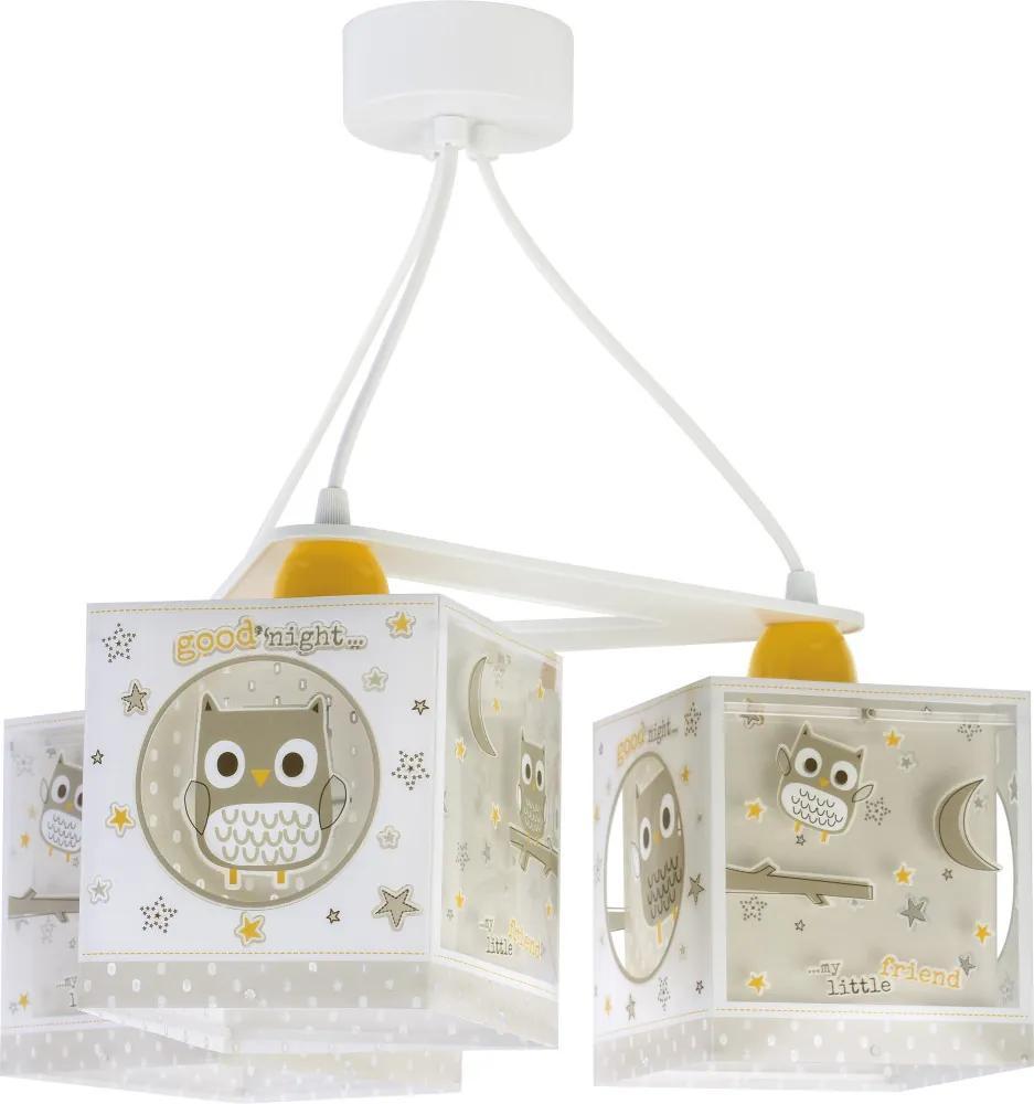 Dalber 63394 Lustre /pendule, Iluminat copii Good Night plastic