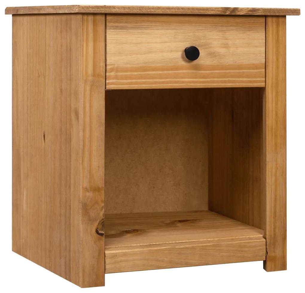 282688 vidaXL Noptieră, 46 x 40 x 57 cm, lemn masiv de pin, gama Panama