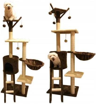 Ansamblu de joacă/odihnă pisici  ELZA 138cm
