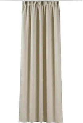 Draperie cu rejansă Maple bej 400x245 cm