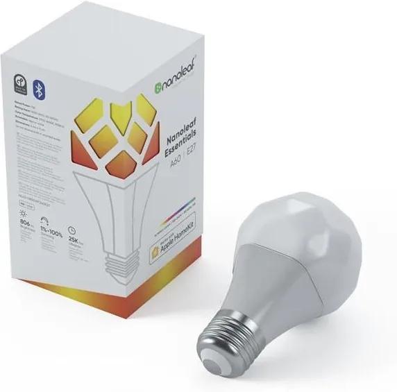LED RGB Bec dimmabil ESSENTIALS A19 E27/8W/230V 2700-6500K - Nanoleaf