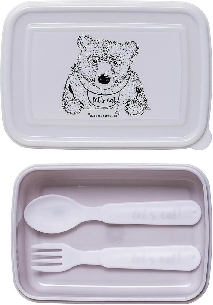 Lunch Box cu tacamuri -  Mov