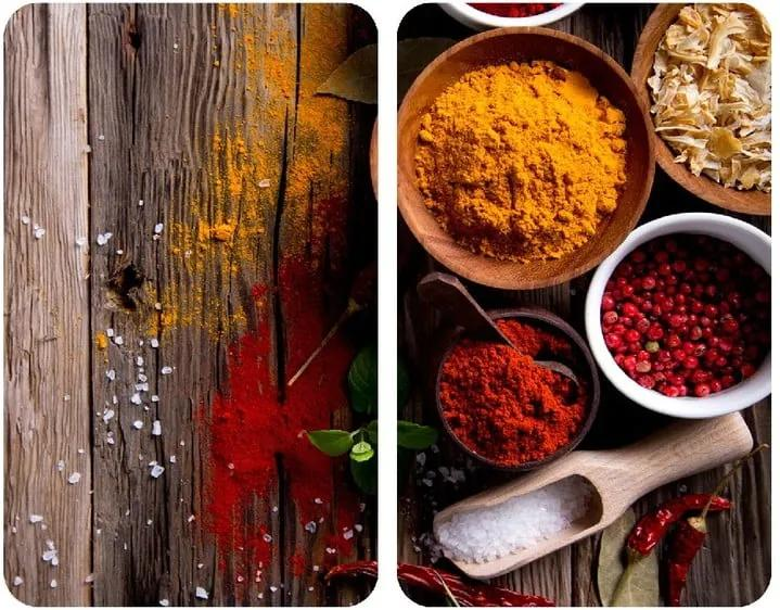 Set 2 protecții din sticlă pentru aragaz Wenko Spices, 52 x 30 cm