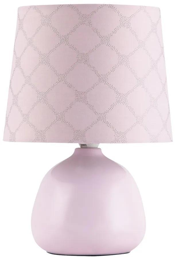 Veioză Rabalux 4384 Ellie, roz
