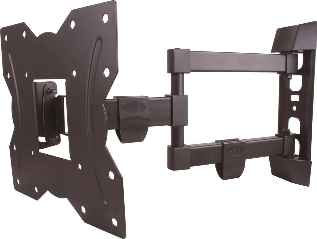 Suport TV LCD de perete 13  -43   reglabil 3 brate Well