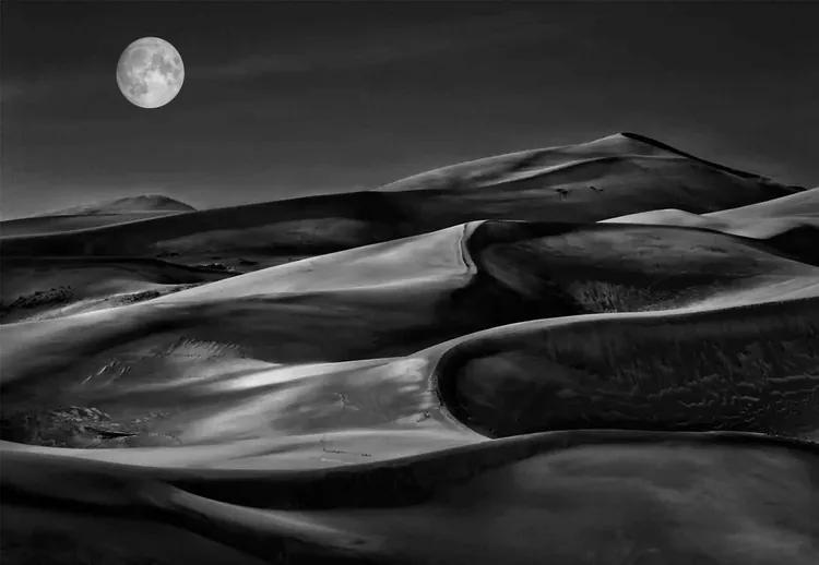 The Night Walked Down The Sky Fototapet, (416 x 290 cm)