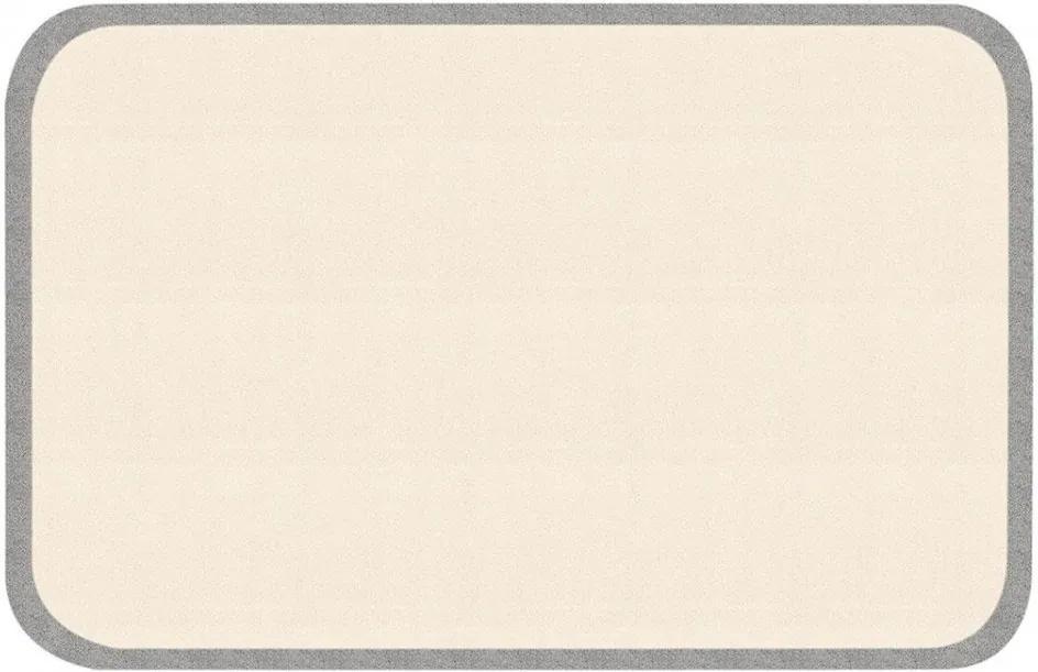 Covor crem/gri pentru copii 120x67 cm Jim Zala Living