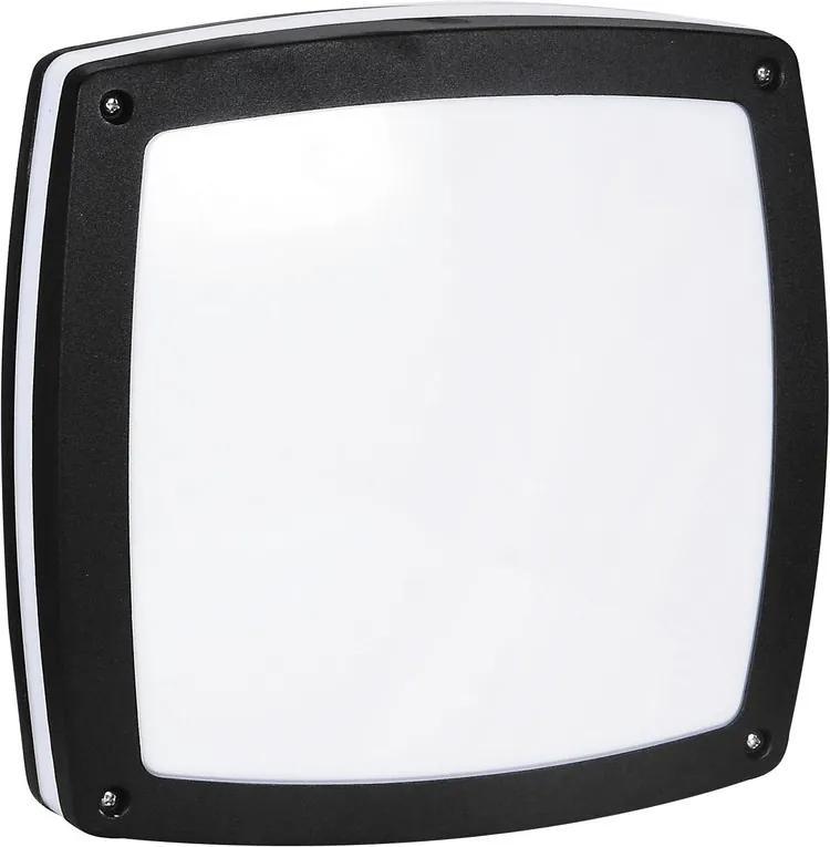 Rábalux Saba 8187 Plafoniere de exterior negru E27 2x MAX 60W 300 x 300 mm
