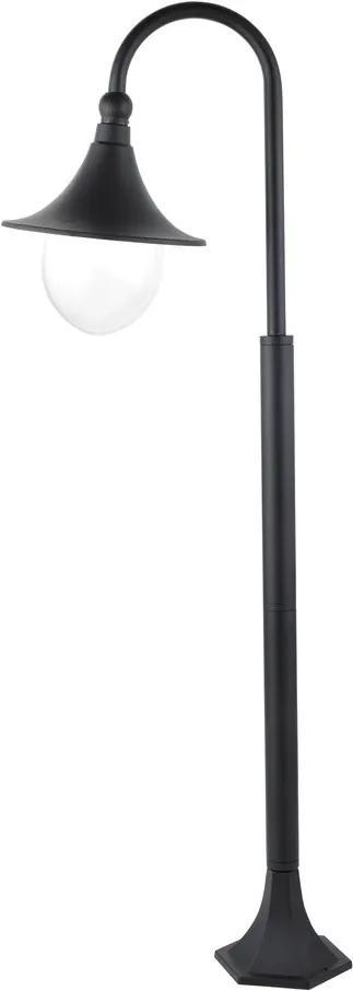 Rábalux Konstanz 8247 Lampadare exterior negru E27 1X MAX 100W 330 x 1200 mm