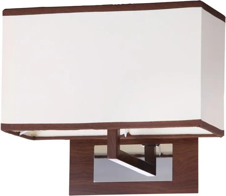 Rábalux Kubu 2895 Aplice perete de noapte bej bej E14 1x MAX 40W 270 x 230 mm