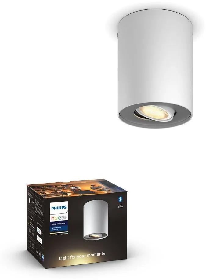 Spot LED dimabil Hue PILLAR 1xGU10/5W/230V Philips 56330/31/P9