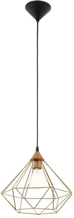 Eglo 94194 - Lustra TARBES 1xE27/60W/230V