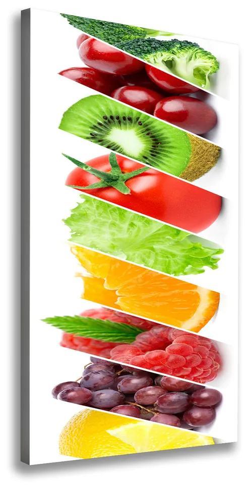 Tablou canvas Legume si fructe