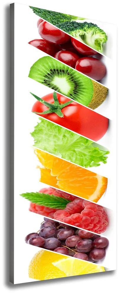 Print pe canvas Legume si fructe