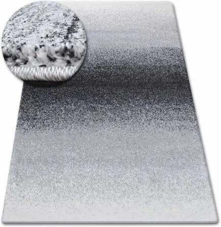 Covor Shadow 8621 negru si alb 60x100 cm
