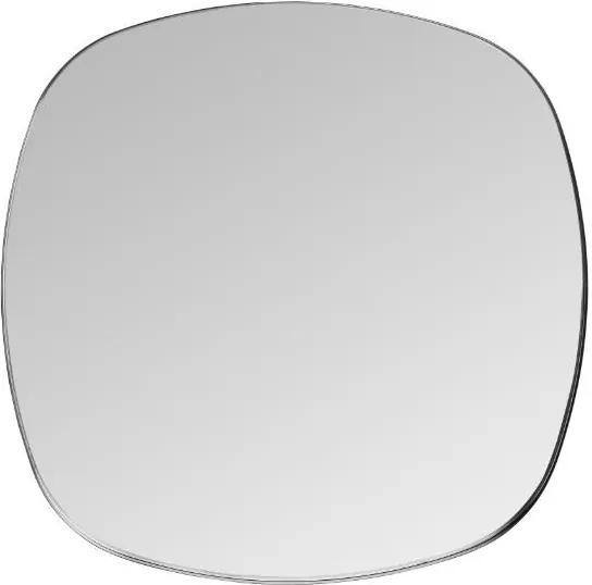 Oglinda patrata neagra din alama 90x90 cm Dobles Black Maxi