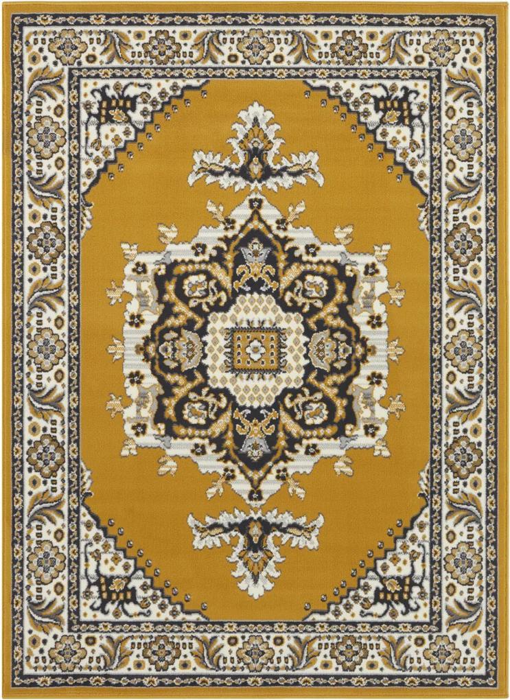 Covor Oriental & Clasic Velours, Galben 80x150