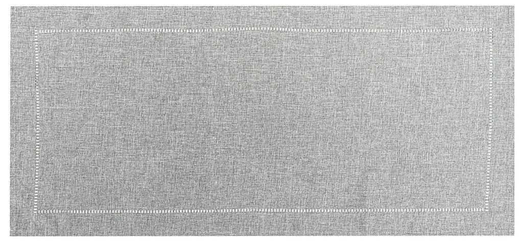 Traversă masă gri, 40 x 140 cm