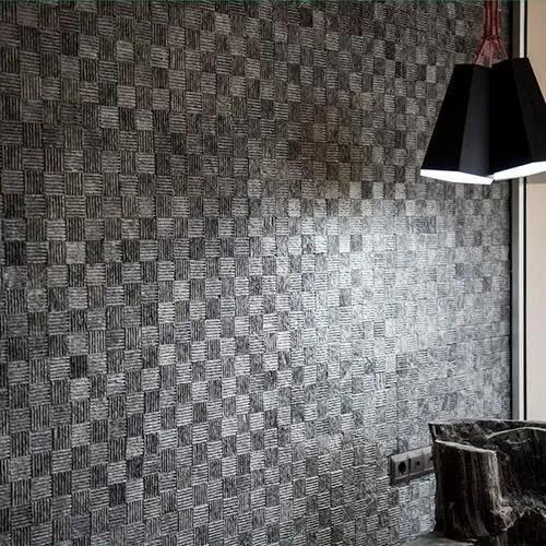 Mozaic Marmura Black Dizzy Produs Comanda Speciala